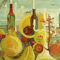 Los amantes de afrodita II, 92 x 73 cm, oil on canvas, 2007