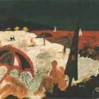 Mirando I, 41 x 50 cm, oil on canvas, 2000 (private collection)