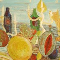 Los amantes de afrodita III, 97 x 81 cm, oil on canvas, 2007 (private collection)