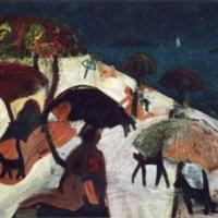 Ligereza, 92 x 73 cm, oil on canvas, 2000 (private collection)