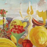 Fiesta de verano, 146 x 82 cm, oil on canvas, 2007 (private collection)