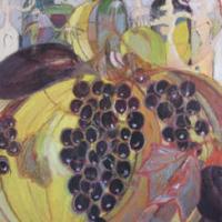 Fiesta de otoño VI, 146 x 114 cm, oil on canvas, 2009 (private collection)