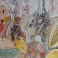 Fiesta de otoño IX, 46 x 38 cm, mixed media, 2010