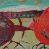 Competencia II, 46 x 38, óleo sobre tela, 2006, (colección privada)