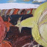 Competencia II, 33 x 46 cm, óleo sobre tela, 2008, (colección privada)