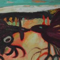 Competencia I, 46 x 33 cm, óleo sobre tela, 2006, (colección privada)
