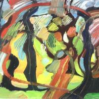 Evolución I 80 x 60 cm, oil on canvas, 2020