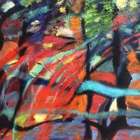 Evolución II 80 x 60 cm cm, oil on canvas, 2020