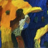 Imprevisto I 55 x 38 cm, oil on canvas, 2020