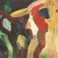 Imprevisto III 55 x 38 cm, oil on canvas, 2020