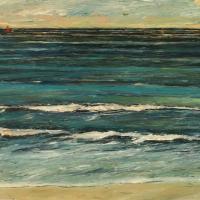 Mar helenico 80 x 50 cm oil on canvas, 2020